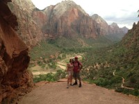 View on Angel's Landing